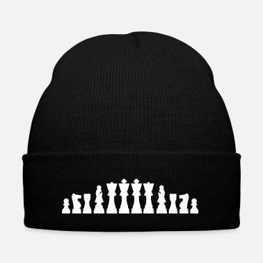 Chess Chess - Knit Cap with Cuff Print