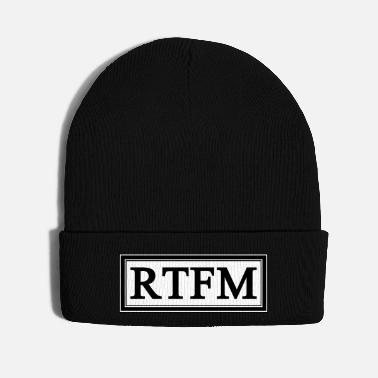 System RTFM; Read the f*** manual - Knit Cap