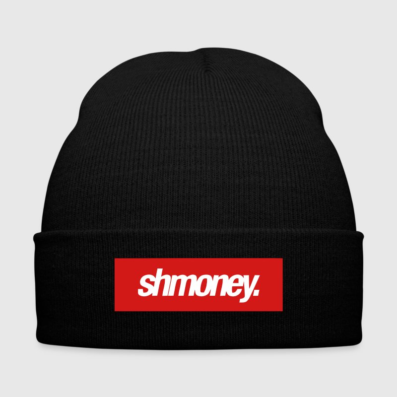 SHMONEY. - Knit Cap with Cuff Print