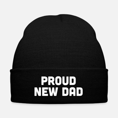 Proud Proud New Dad - Knit Cap