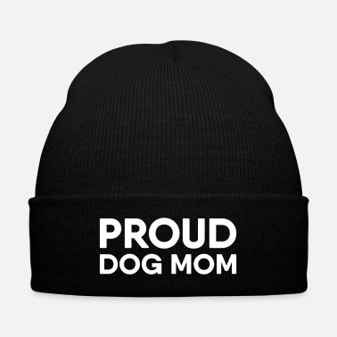 Proud Proud Dog Mom - Knit Cap