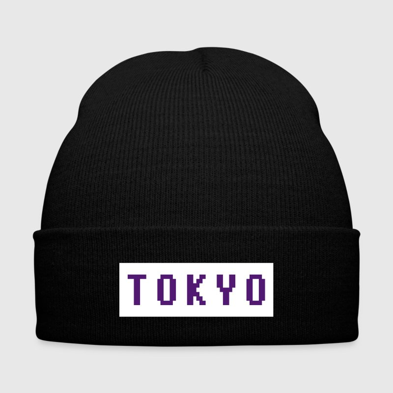 TOKYO - Knit Cap with Cuff Print
