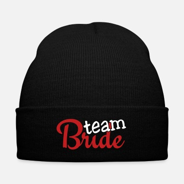 Bride team bride 2c - Knit Cap with Cuff Print