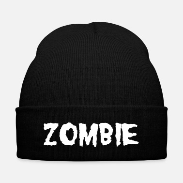 Halloween ZOMBIE - Knit Cap with Cuff Print