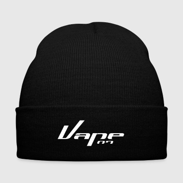 Vape on - Vape T-Shirt - Knit Cap with Cuff Print