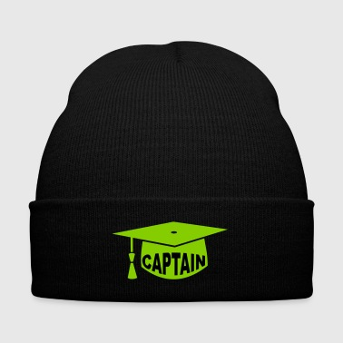 doctor hat captain - Knit Cap with Cuff Print