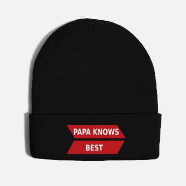 For Papa papa_knows_best_ppkb - Knit Cap