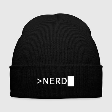 NERD - Knit Cap with Cuff Print