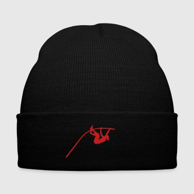 Vault Pole vault - woman - Knit Cap with Cuff Print