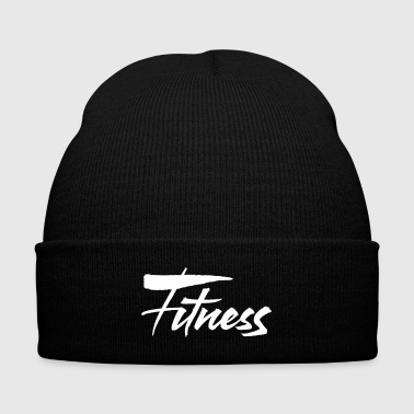 Fitness - Knit Cap with Cuff Print