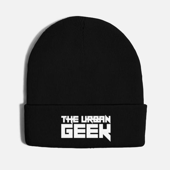 Geek Caps - The Urban Geek - Knit Cap black