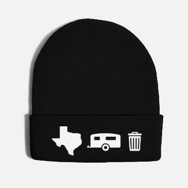 Icon Texas Trailer Trash - Icons (Horizontal/Dark Hue) - Knit Cap