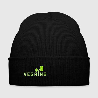 VEGAINS - Knit Cap with Cuff Print