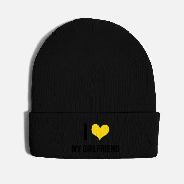 Girlfriend I Love My Girlfriend - Knit Cap