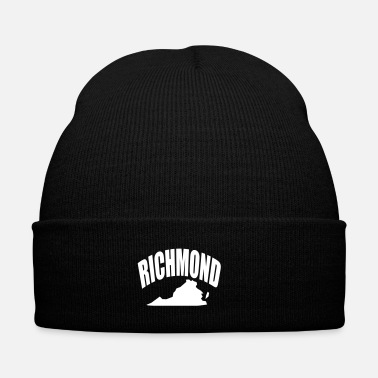 Dj RICHMOND - Knit Cap with Cuff Print