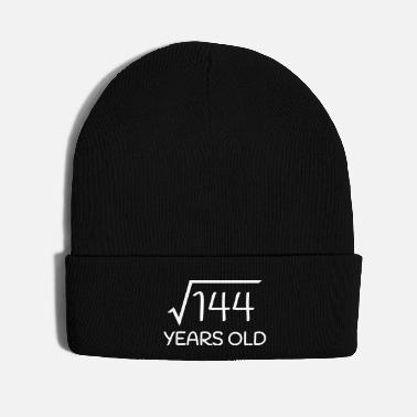 Old 12 Years Old - 12th Birthday (square root 144) - Knit Cap