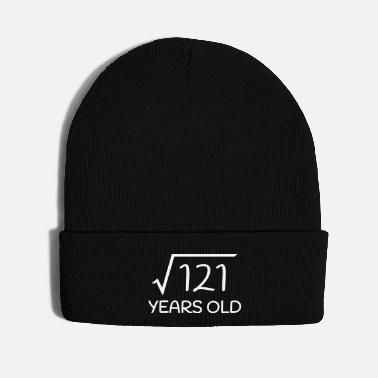Old 11 Years Old - 11th Birthday (square root 121) - Knit Cap