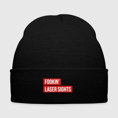 Fookin' Laser Sights - Rainbow Six Siege Thatcher - Knit Cap with Cuff Print