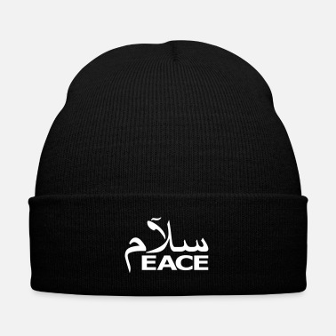 Motion SALAM PEACE - Knit Cap with Cuff Print
