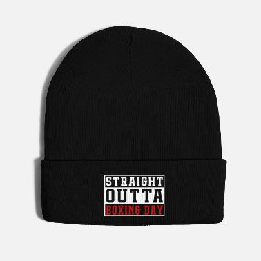 Nerd Straight Outta Boxing Day Game - Knit Cap