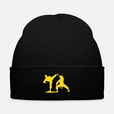 Fist kung fu - Knit Cap with Cuff Print