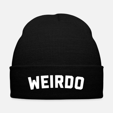 Offensive Weirdo Funny Quote - Knit Cap with Cuff Print