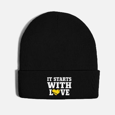 Week It Starts With Love Tennis - Knit Cap