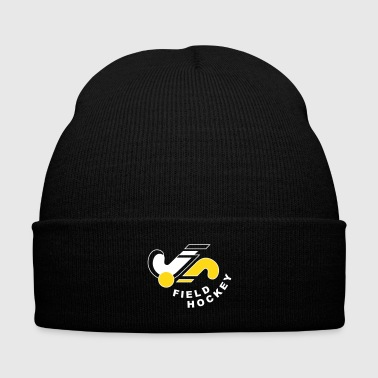 Hockey Field Hockey Logo - Knit Cap with Cuff Print