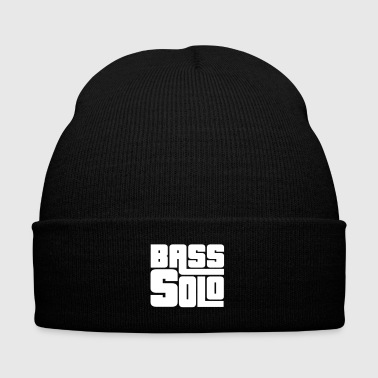 Bassist shirt Bass Solo - Knit Cap with Cuff Print