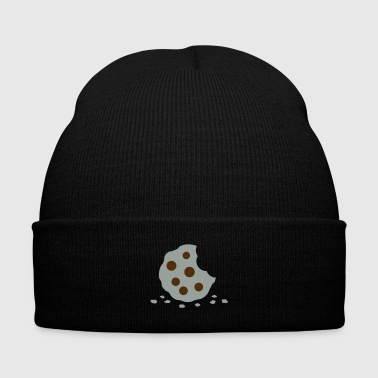 Cookie - Knit Cap with Cuff Print