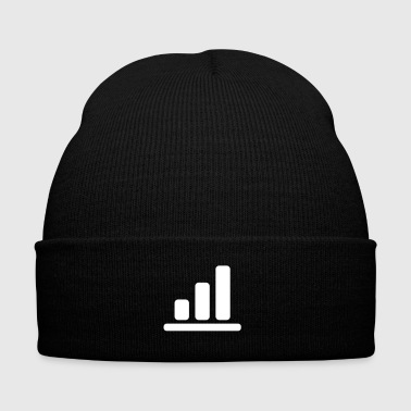 Bar Pub bar chart 1 - Knit Cap with Cuff Print
