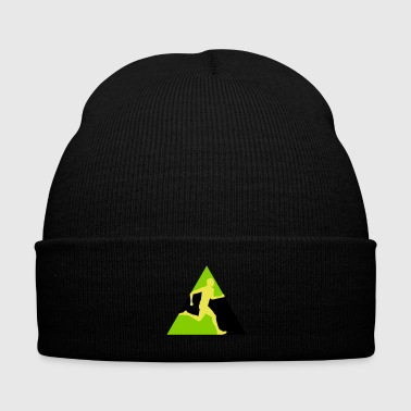 Jamaica Rush Series 3c (++) - Knit Cap with Cuff Print