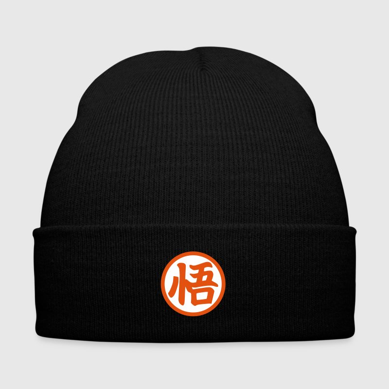 Son Goku Kanji - Knit Cap with Cuff Print