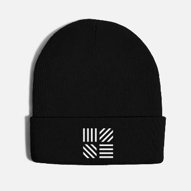 Graphic Art graphic stripe pattern - Knit Cap