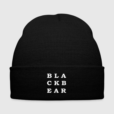 blackbear - Knit Cap with Cuff Print