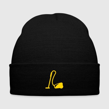 vacuum cleaner - service - cleaning - Knit Cap with Cuff Print