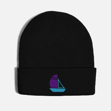 Fisherman Sailboat - Knit Cap