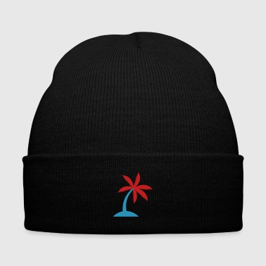 Palm Trees Palm tree - Knit Cap with Cuff Print