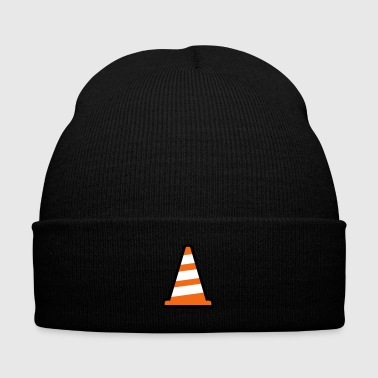 Pylon Construction Site - Knit Cap with Cuff Print