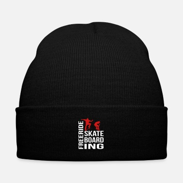 Freerider Freeride Skateboarding - Knit Cap with Cuff Print