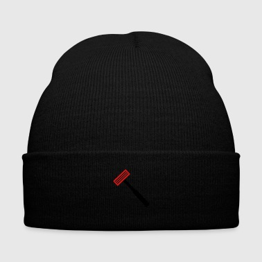 Razor - Knit Cap with Cuff Print