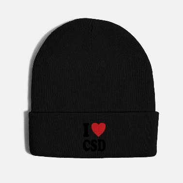 Street I love CSD (variable colors!) - Knit Cap