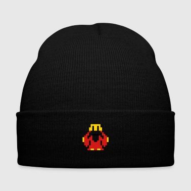 It's dangerous to go alone! Take this! - Knit Cap with Cuff Print