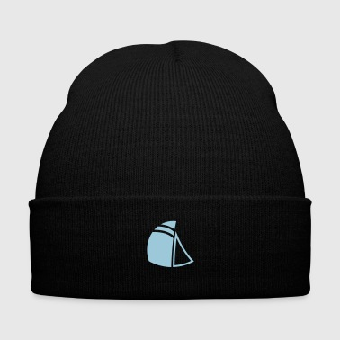Sail - Knit Cap with Cuff Print