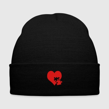 lovesickness - Knit Cap with Cuff Print