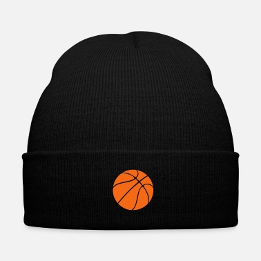 Basket Basket Ball - Knit Cap with Cuff Print