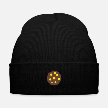 Tasty Cookie - Knit Cap with Cuff Print