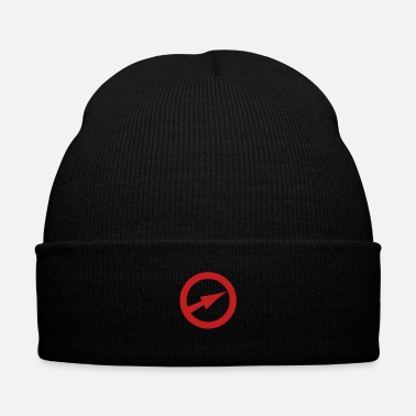 Captain Javelin - Knit Cap with Cuff Print