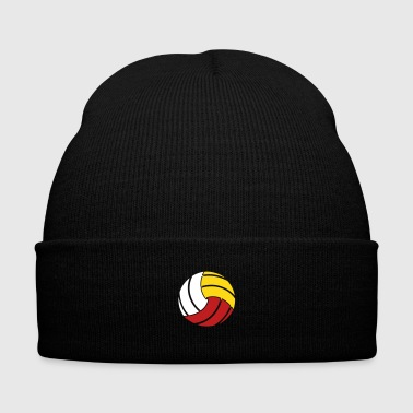 Volleyball - Knit Cap with Cuff Print