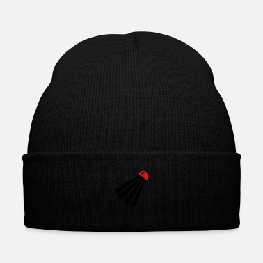 Badminton shuttlecock badminton - Knit Cap with Cuff Print